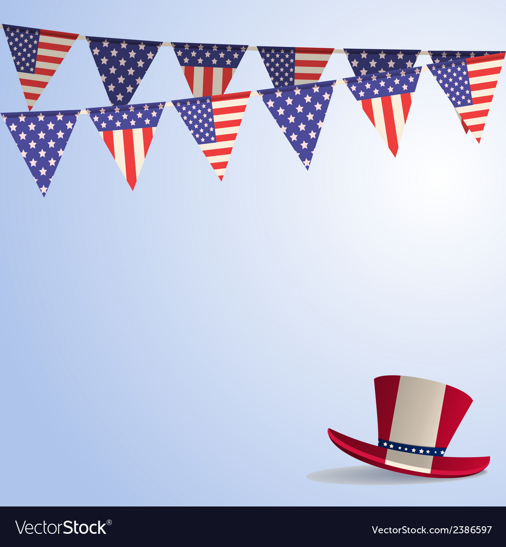 Independence day background vector | Price: 1 Credit (USD $1)