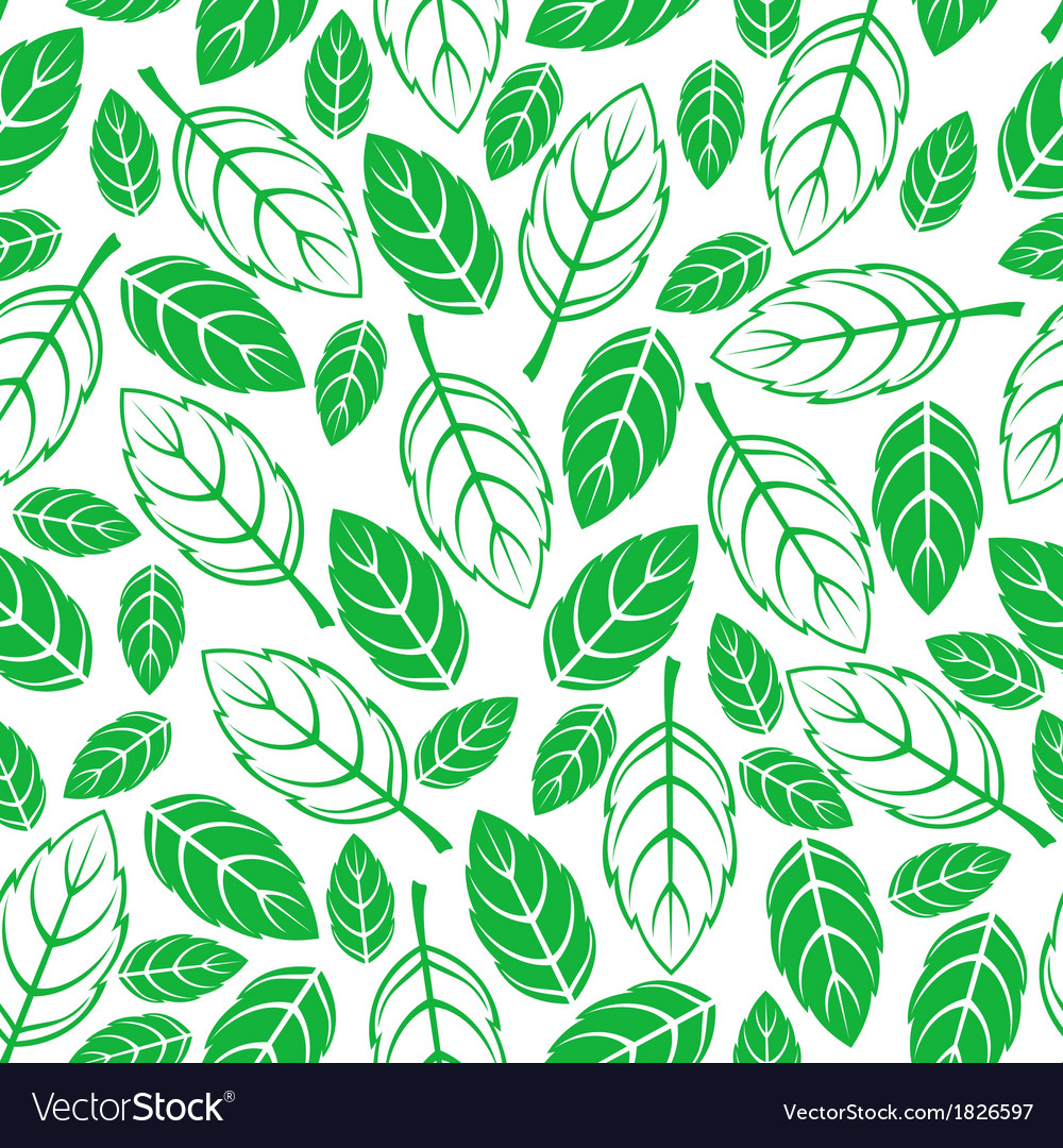 Leaves seamless vector | Price: 1 Credit (USD $1)