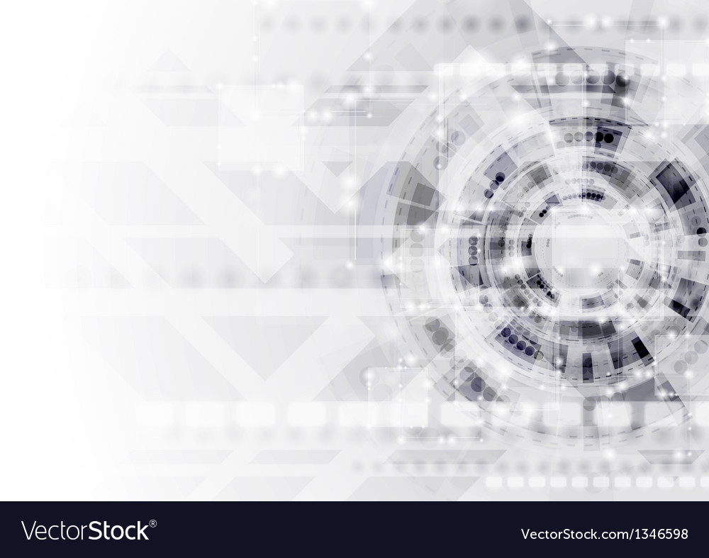 Abstract modern technology template vector | Price: 1 Credit (USD $1)