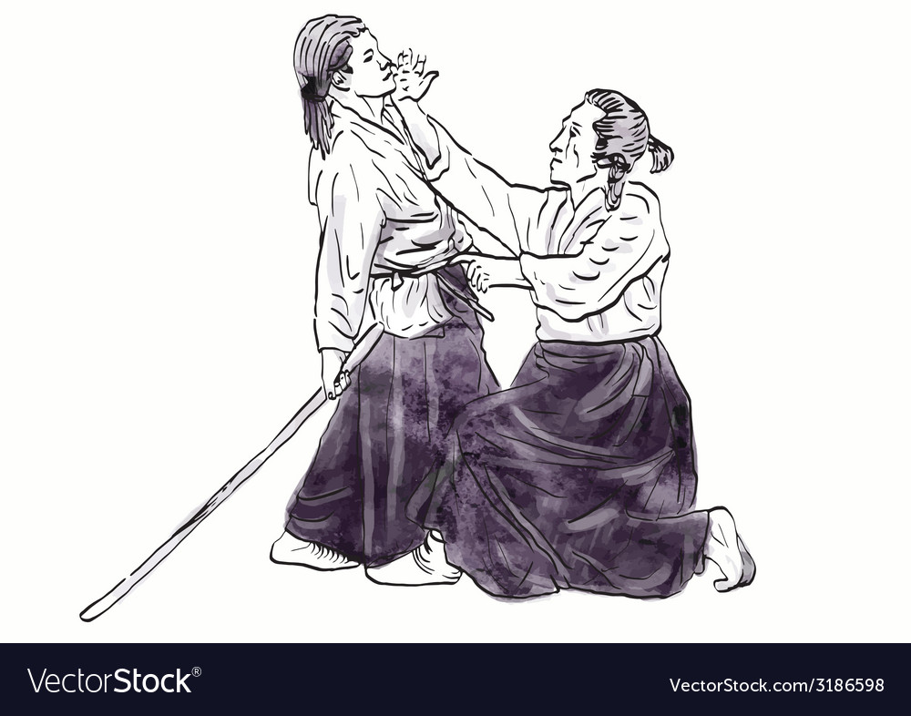 Aikido vector | Price: 1 Credit (USD $1)