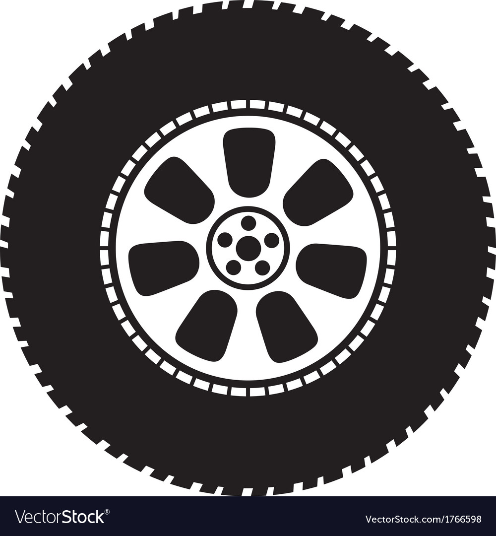 Wheel - tyre vector | Price: 1 Credit (USD $1)
