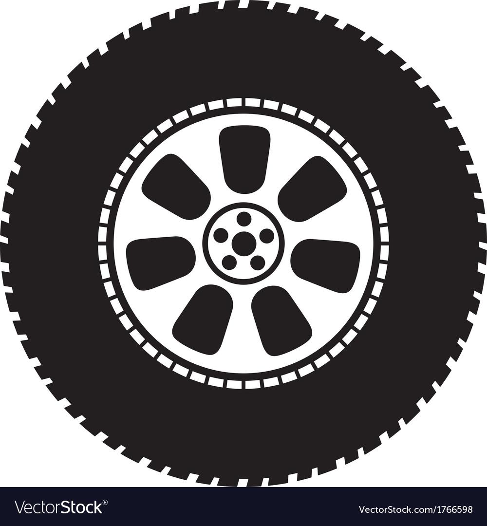 Wheel - tyre vector | Price: 1 Credit (USD $1)