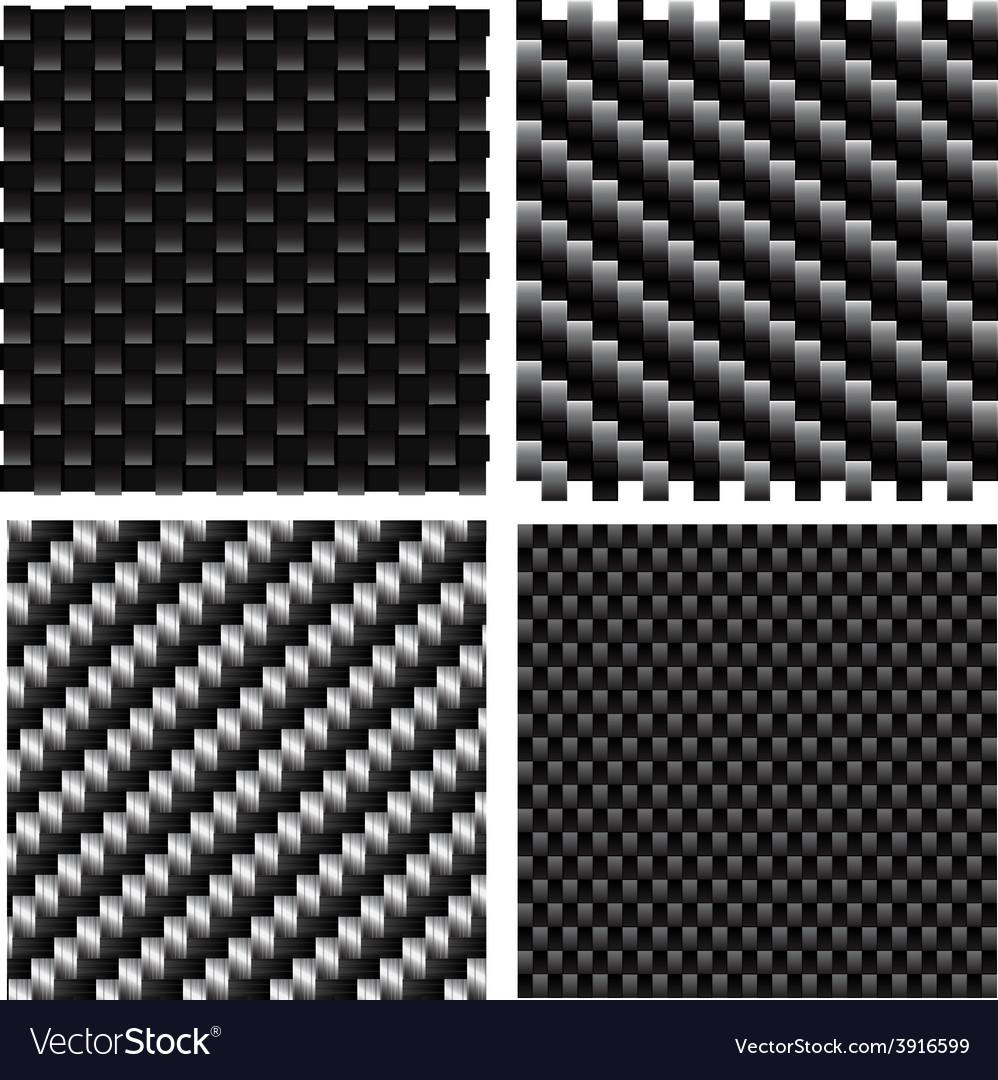Carbon pattern set vector | Price: 1 Credit (USD $1)