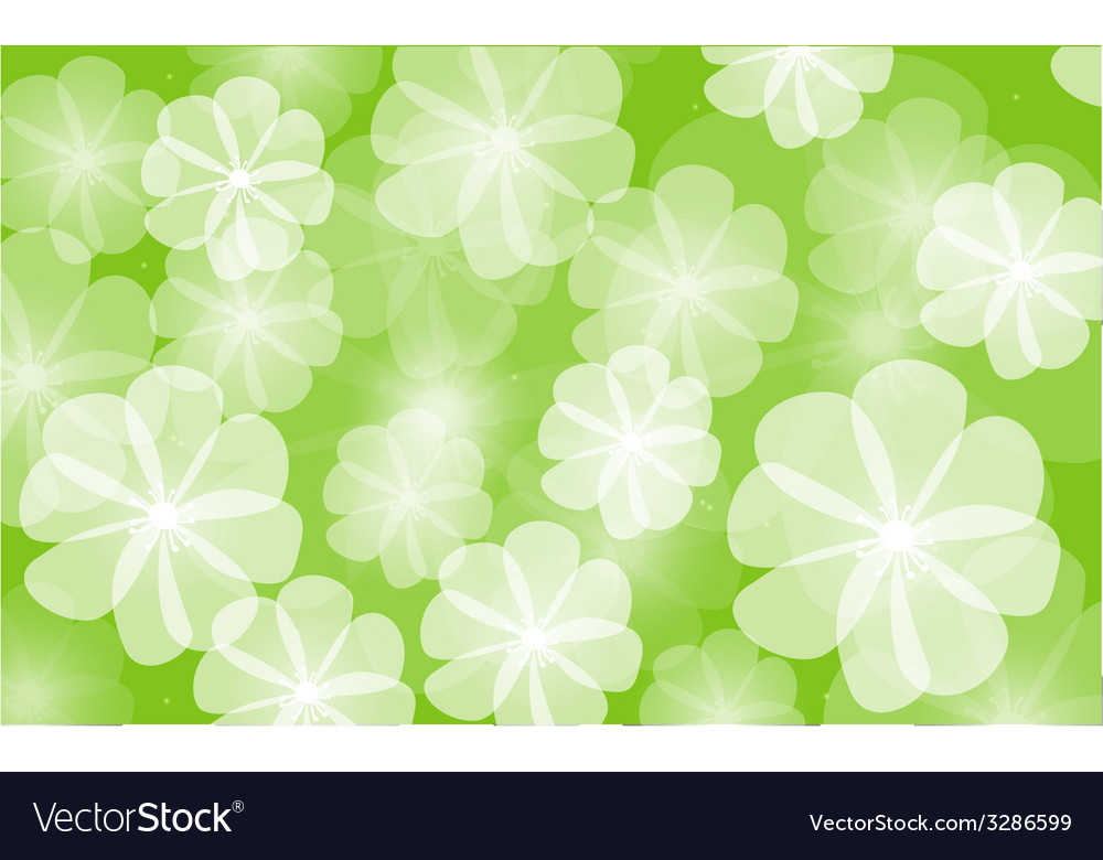 Floral background flower vector | Price: 1 Credit (USD $1)