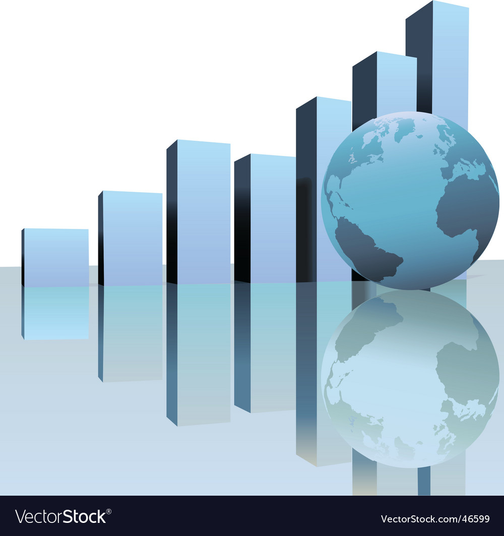 Global profit growth vector | Price: 1 Credit (USD $1)