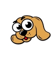 Dog face sign vector