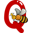 Q for queen bee vector