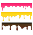 Seamless drips vector