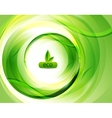 Green eco abstract background vector