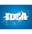 Idea business concept vector