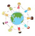 Global children image vector