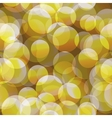 Abstract seamless yellow circle background vector