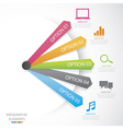 Diagram social media vector