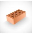 Brick realistic template vector