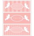 Valentine card design vector