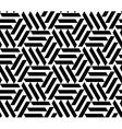 Seamless geometric pattern opt art vector