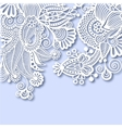 Ornate greeting card christmas decoration vector