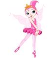 Cartoon ballerina vector