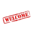 Welcome rubber stamp vector