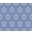 Seamless decorative blue wallpaper vector
