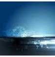 Dark blue concept team background vector