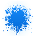 Paint stain vector