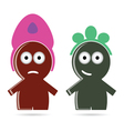 Funny people icon color vector
