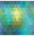 Seamless geometric background of triangles vector