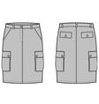 Sport skirt vector