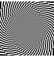Design monochrome vortex circular background vector