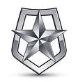 Stylized symbol isolated on white background vector