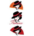 Flamenco concept vector
