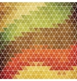 Abstract background of hexagons in retro style vector