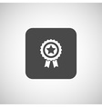 Icon award medal achievement sign champion label vector