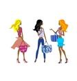 Fashion girls vector