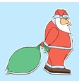 Childrens holiday santa claus vector