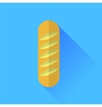Single bread vector