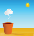 Flowerpot part two vector