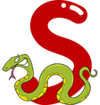 S for snake vector