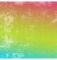 Rainbow grunge texture vector