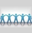 Teamwork background vector