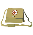 Nurse bag vector