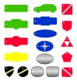 Key tags for car dealer purposes vector
