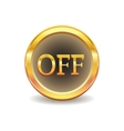 Turn off button vector