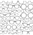 Glasses a background vector