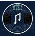 Musical album vector