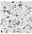 Science - doodles collection vector