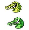 Angry crocodile vector