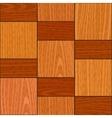 Seamless light oak square parquet panel texture vector