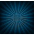 Retro vintage square blue sunburst vector